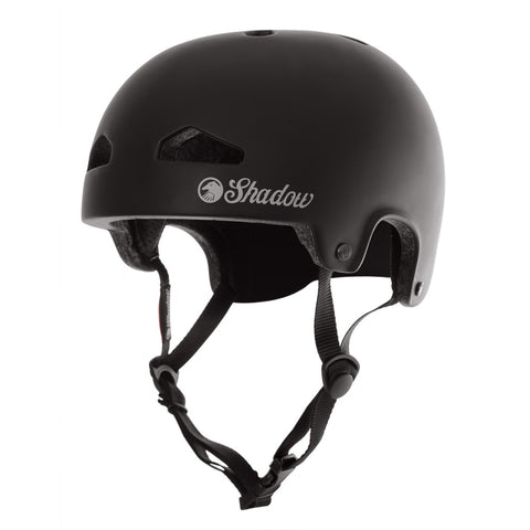 Shadow Conspiracy BMX FeatherWeight In-Mold Helmet - Matte Black (SM/MD)