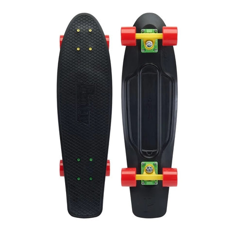 "Penny Complete Cruiser Nickel Rasta 27"" - Black"