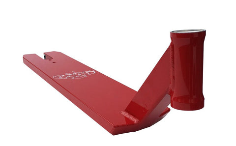 "TSI Sledge V3 Deck 23"" - Red"