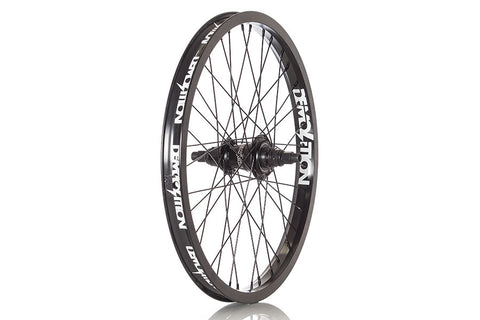 "Demolition RotatoR V3 18"" Freecoaster RHD Rear Wheel - Black"
