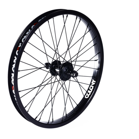 Colony BMX Pintour Cassette RHD Rear Wheel - Black/Black
