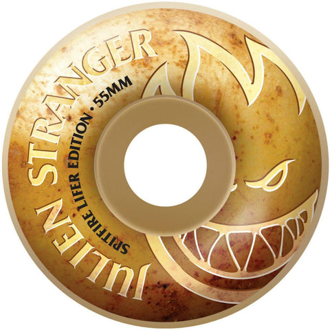Spitfire Wheels F4 Strander Classic Lifer 55mm 99a - White (Set of 4)