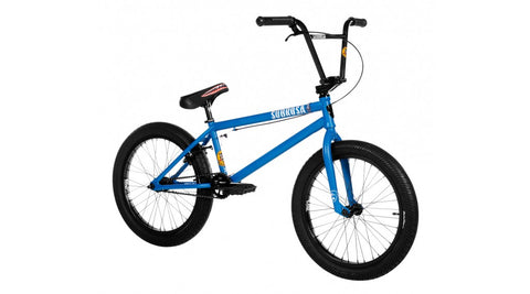 Subrosa 2019 Salvador XL Cassette Complete BMX Bike - Satin Steel Blue