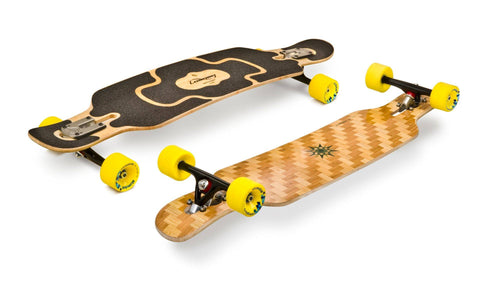 Loaded Complete Longboard Tan Tien - Weave