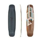 Loaded Basalt Tesseract Bamboo Longboard Deck - Pink