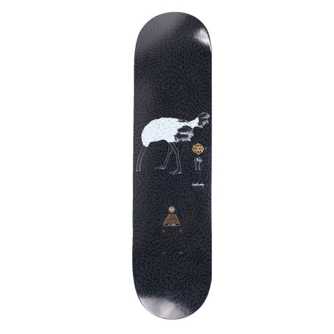 "Theories Ostrich Effect Skateboard Deck 8.25"" - Black"