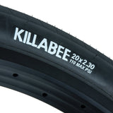 "Total BMX Killabee Folding Tire 2.30"" - Black"