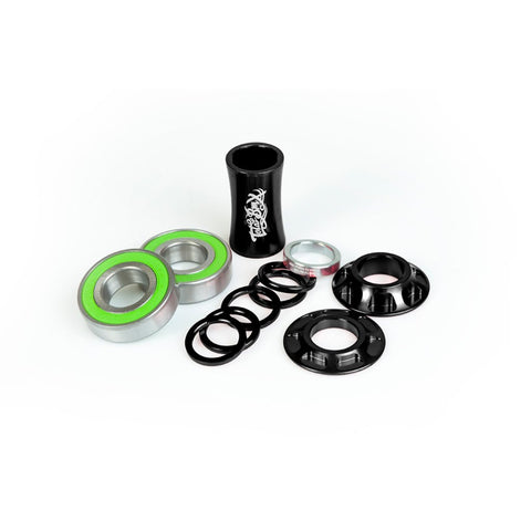 Total BMX Team Mid Bottom Bracket Kit 19mm - Black