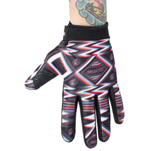 Shadow Conspiracy BMX Conspire Gloves - UHF (Black/Red/White)