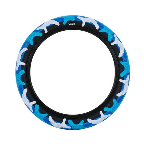 "Cult BMX X Vans Tire 20"" - Blue Camo"