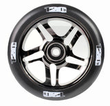 Envy 5 Spoke Scooter Wheel 120mm - Black Chrome (Pair)