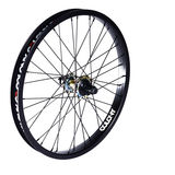 Colony BMX Pintour Cassette RHD Rear Wheel - Black/Rainbow