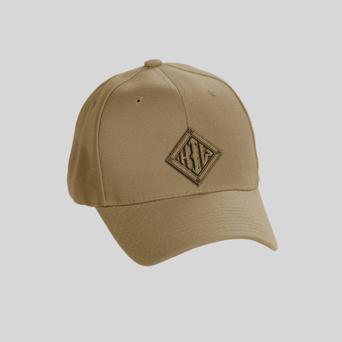 Howard Iron Works Printing Museum, Baseball Cap, Khaki, Embroidered Logo