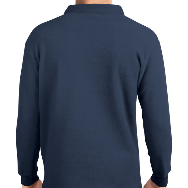 Pullover - Mens - Navy - from Howard Iron Works Printing Museum