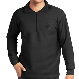 Pullover - Mens - Black - from Howard Iron Works Printing Museum