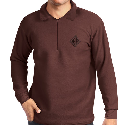 Pullover - Mens - Russet - from Howard Iron Works Printing Museum