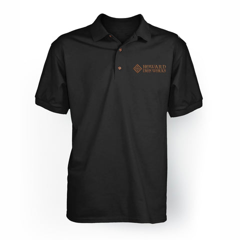 Polo Shirt S/S Men's - Black