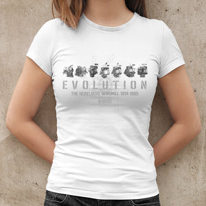 T-Shirt Short Sleeve Evolution Ladies - White
