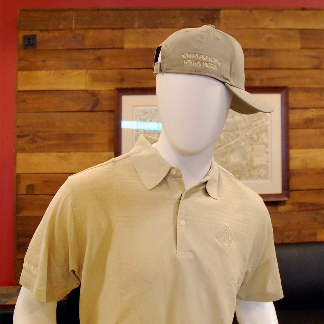 Golf Shirt Wilson Staff, S/S Men's - Sand