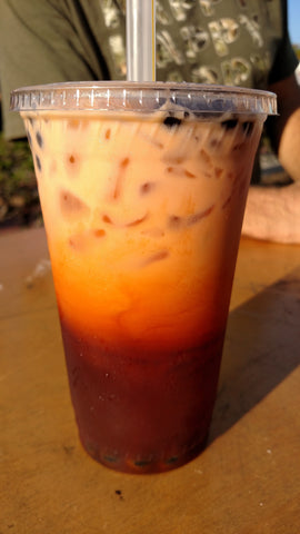 How we make delicious Thai Iced Tea