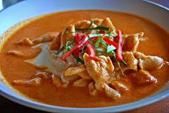 Panang Curry made with our Frozen Panang Thai Curry Sauce