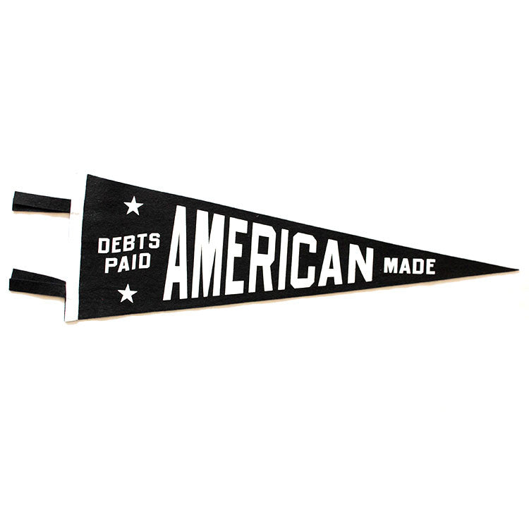 Debts Paid American Made Pendant