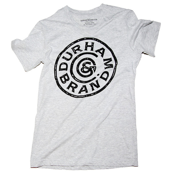Union Circle Logo Tee Heather Grey