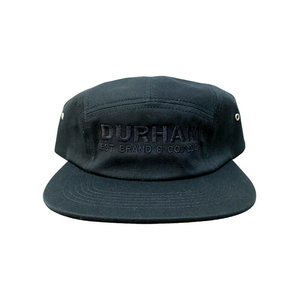 Durham Five Panel - Black