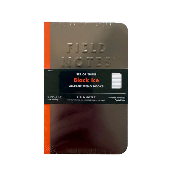 Field Notes - Black Ice 3 Pack