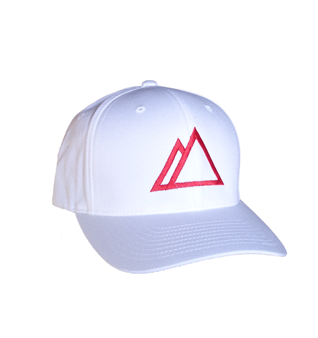 Devslopes Flexfit White Hat (L/XL) - Coder Swag