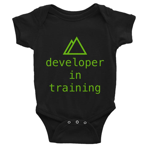 Developer In Training Baby Onesie - Coder Swag