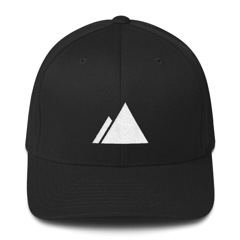 Devslopes White Logo Flexfit Hat