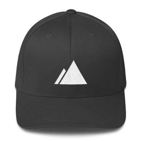 Devslopes White Logo Flexfit Hat - Coder Swag