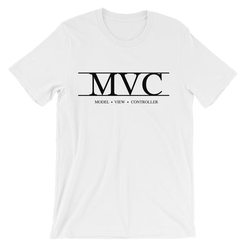 Model View Controller Roman Numeral T-Shirt - Coder Swag