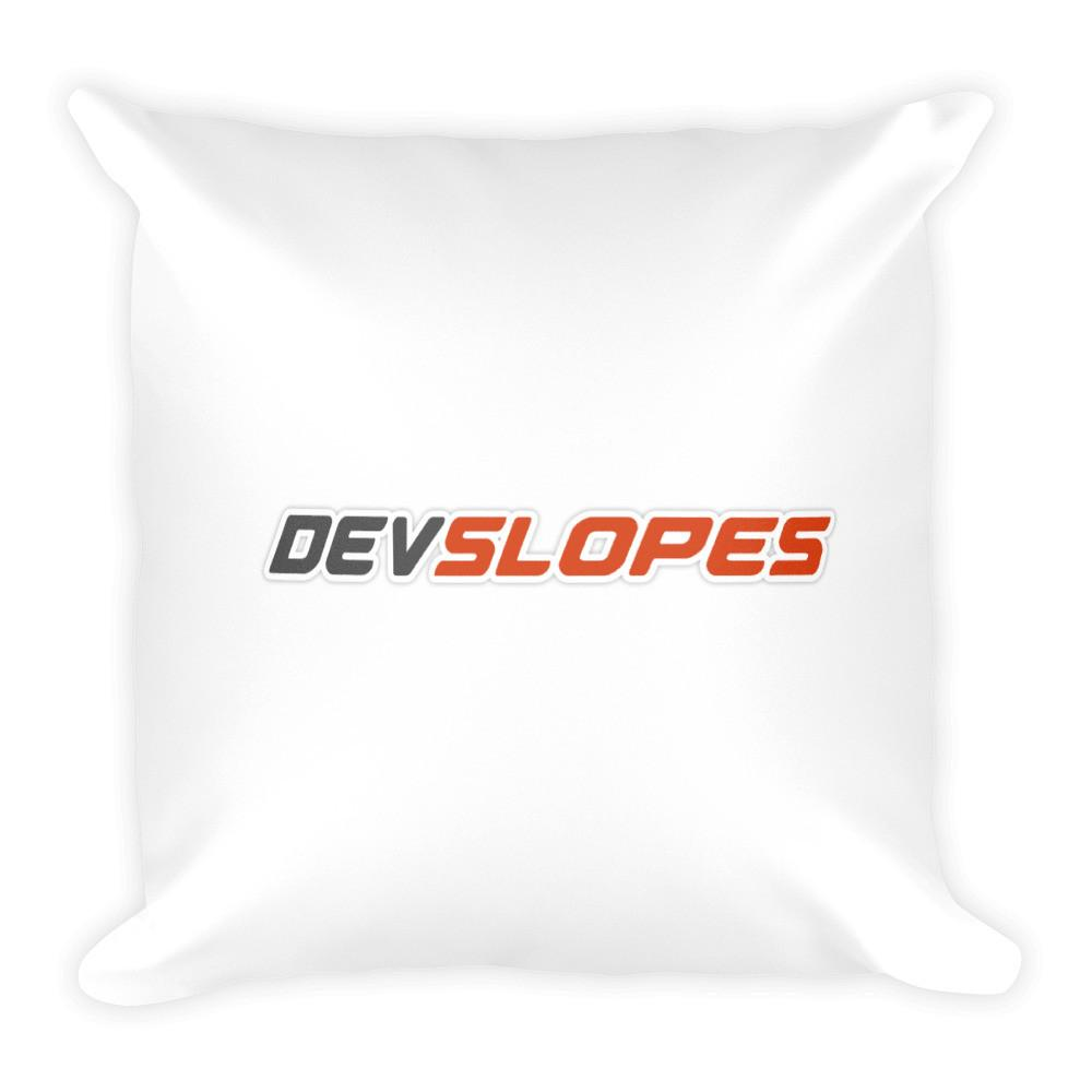 Devslopes Logo Pillow - Coder Swag