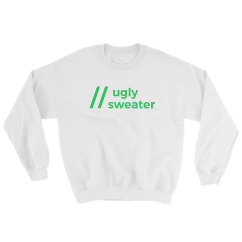 Comment Ugly Sweater Pullover - Coder Swag