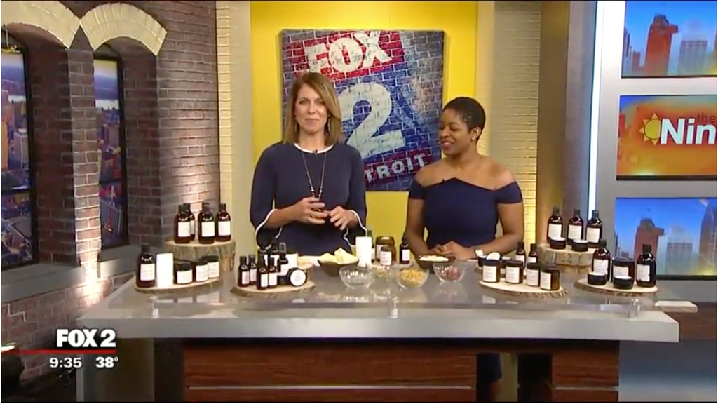 "Chinonye Akunne on Fox 2 Detroit's ""The Nine"""