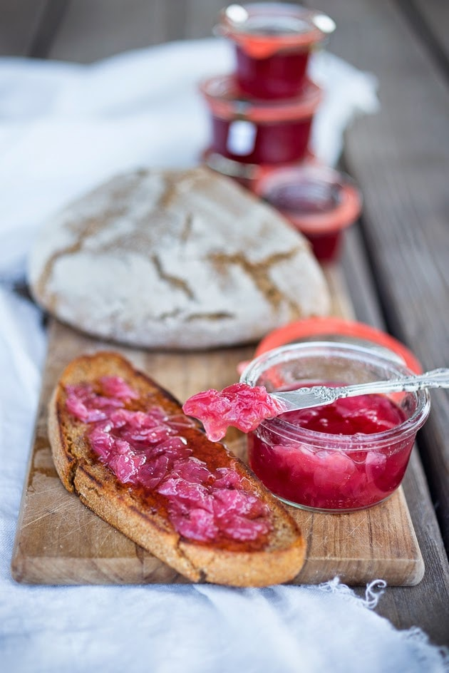 Homemade Organic Rose Petal Jam