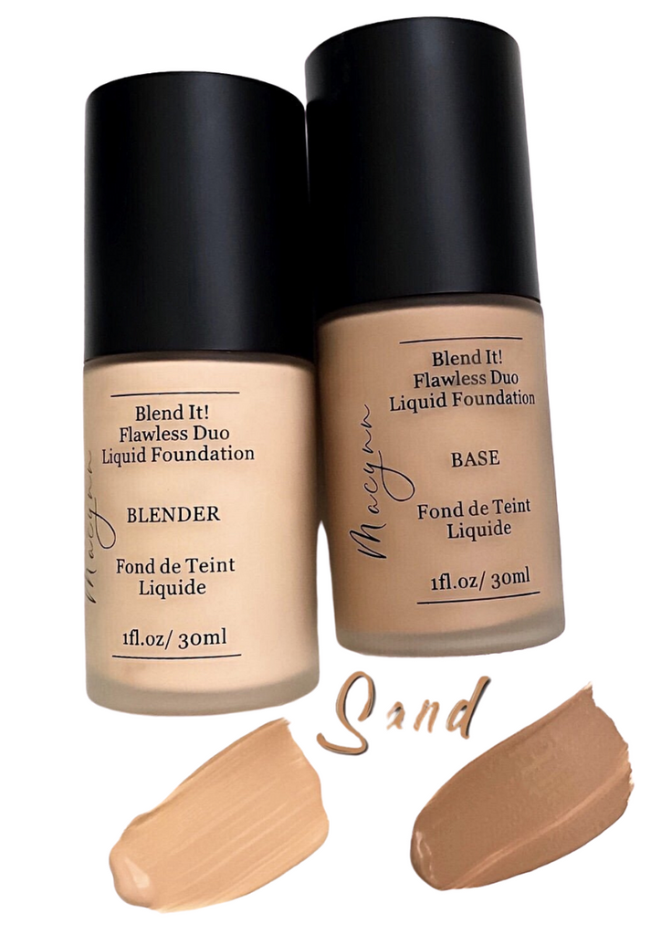 Blend It! Flawless Duo Liquid Foundation