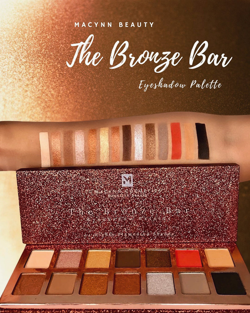 The Bronze Bar Eyeshadow Palette