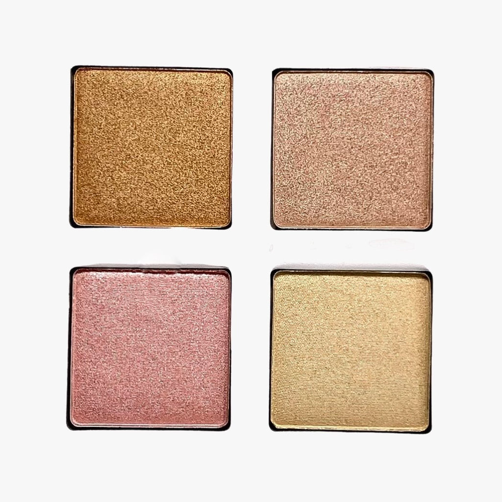 Neutral & Glam Highlighter Palette