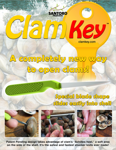 Clam Key Clam Knife