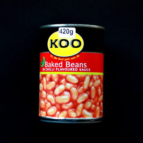 Koo Baked Beans in Chili Sauce