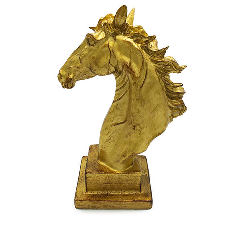 Gold Horse Decor