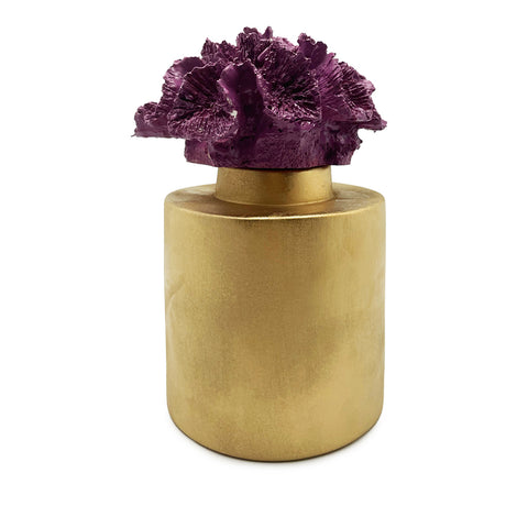Coral Decorative Vase-Purple