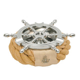 Nautical Rope Rudder Ashtray-Beige