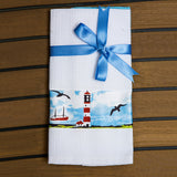 Marine Kitchen Towel Set -Lighthouse