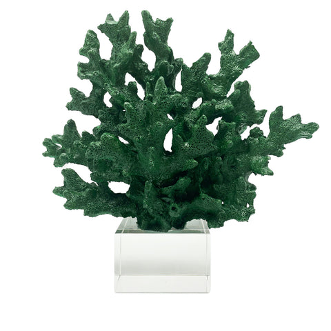 Coral Decor-Green