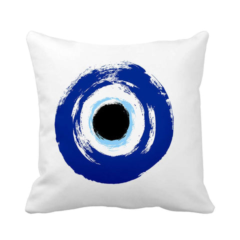 Blue Eye Cushion