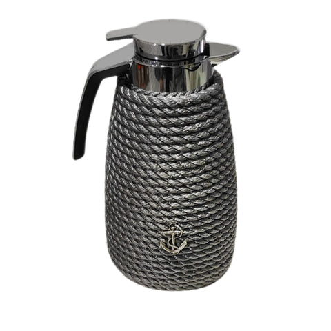 Nautical Rope Luxury Coffee Carafe-Silver
